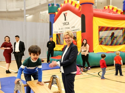 kathleen wynne ymca kids