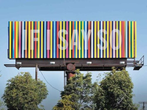 Susan Silton Billboard commission
