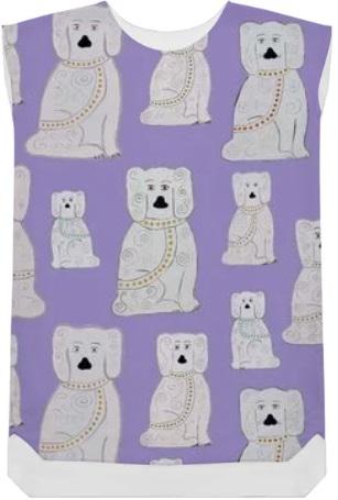 Juwellia Dogs Shift dress