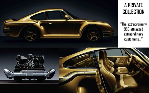 porsche 959 private collectiongoldcar