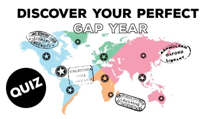 This Quiz Helps You Discover Your Perfect Gap Year