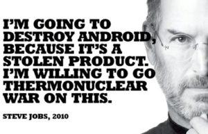 Steve Jobs and Apple on stealing ideas