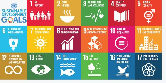 United Nations Sustainable Goals Chart