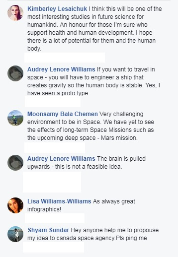 Comments on CSA Space infographic