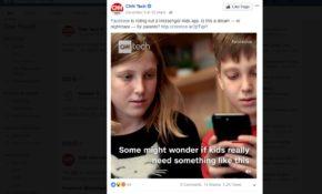 Concern over Facebook Messenger Kids From CNNTech