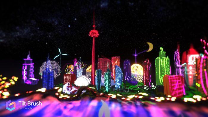 My Road To VR Toronto Art